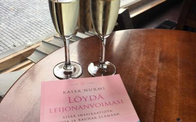 Kirja julkaistu! Hei rakas Leijonansielun ystävä! Siinä se nyt on.